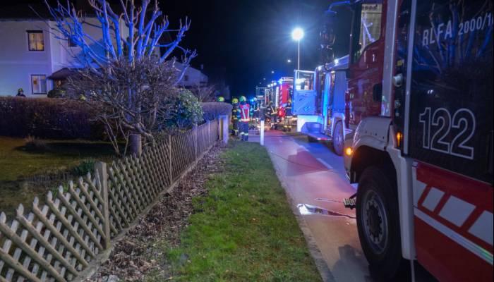 Wohnhausbrand in Schalchham